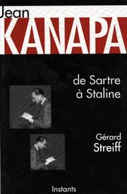 Cover of: Jean Kanapa