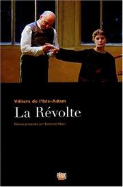 Cover of: La révolte