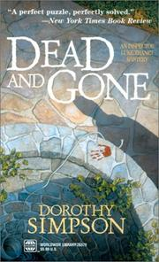 Cover of: Dead and gone