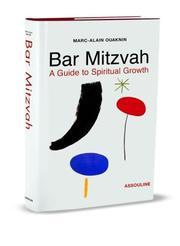 Cover of: Bar Mitzvah | Marc-Alain Ouaknin