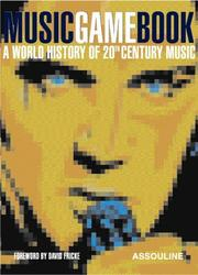 Cover of: Music Game Book |