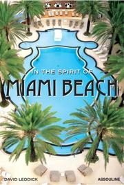 Cover of: In the Spirit of Miami Beach