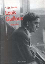 Cover of: Louis Guilloux (1899-1980)