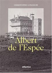 Cover of: Albert de l'Espée