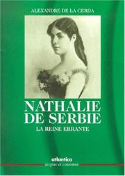 Cover of: Nathalie de Serbie