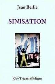 Cover of: Sinisation