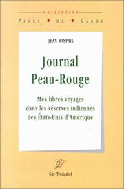 Cover of: Journal peau-rouge