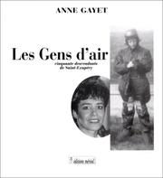 Cover of: Les gens d'air