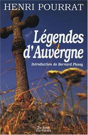 Cover of: Legendes d'auvergne
