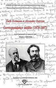 Cover of: Correspondance inédite, 1870-1887