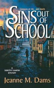 Cover of: Sins out of school: a Dorothy Martin mystery