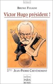 Cover of: Victor Hugo président !