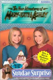 Cover of: New Adventures of Mary-Kate & Ashley #34: The Case of the Sundae Surprise | Ilse Wagner