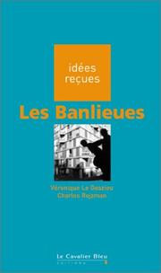 Cover of: Les banlieues