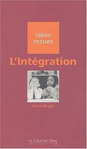 Cover of: L'integration
