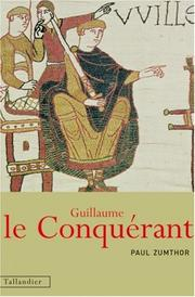Cover of: Guillaume le Conquérant