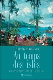 Cover of: Au temps des isles
