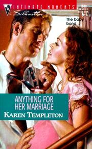 Cover of: Anything for Her Marriage (Expectantly Yours)