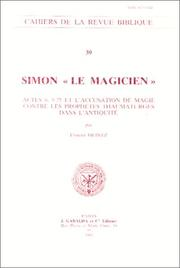 "Cover of: Simon ""le magicien"""