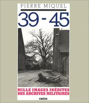 Cover of: 39-45
