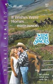 Cover of: If Wishes Were Horses...