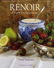 Cover of: Renoir, à la table d'un impressionniste