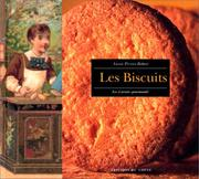 Cover of: Les biscuits