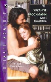 Cover of: Taylor's Temptation (Tall, Dark and Dangerous) (Silhouette Intimate Moments No. 1087) (Intimate Moments, 1087)