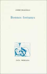 Cover of: Bonnes fortunes