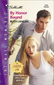 Cover of: By Honor Bound (The Lassiter Law) | Ruth Ryan Langan