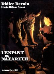 Cover of: L' enfant de Nazareth