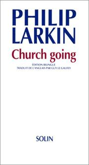 Cover of: Church going