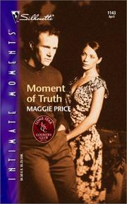 Cover of: Moment Of Truth (Lone Star Country Club) | Maggie Price