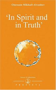 Cover of: In Spirit and in Truth