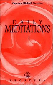 Cover of: Daily Meditations