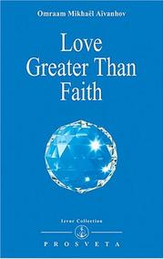 Cover of: Love Greater Than Faith
