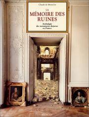 Cover of: La mémoire des ruines