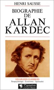 Cover of: Biographie d'Allan Kardec