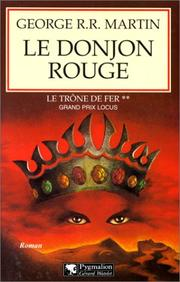 Cover of: Le Donjon rouge