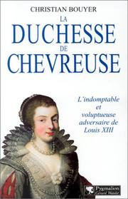 Cover of: La duchesse de Chevreuse