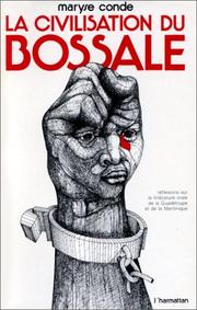 Cover of: La civilisation du bossale