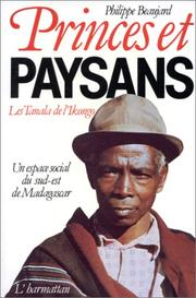 Cover of: Princes et paysans