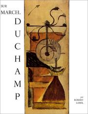 Cover of: Sur Marcel Duchamp