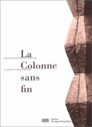 Cover of: La Colonne sans fin