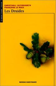 Cover of: Les druides