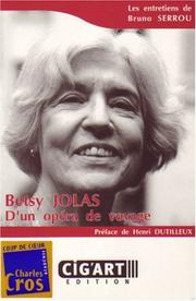 Cover of: Betsy Jolas