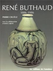 Cover of: René Buthaud