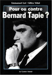 Cover of: Pour ou contre Bernard Tapie?