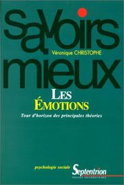 Cover of: Les émotions