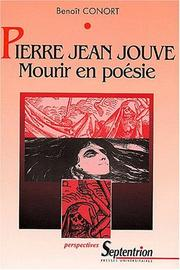 Cover of: Pierre Jean Jouve